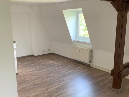 Moderne Zweiraumwohnung mit Wannenbad