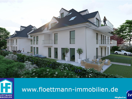 Moderne 2-ZKB Neubauwohnung in Schloß Holte!