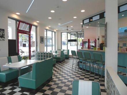 Top renoviertes Diner´s Restaurant inkl. Genehmigung für Spielgeräte im UG in Top Lage zu verpachten