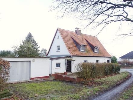 Freistehendes 1-2-Familienhaus mit Aussicht + Garten + 2 Garagen
