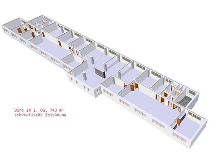 Springe: preiswerte 783 m² Bueroflaeche im Suedwesten der Region Hannover