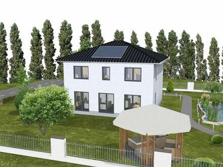 KFW 55 - Moderne und familiengerechte Stadtvilla in Herdecke - mit Elbe-Haus ® bauen!