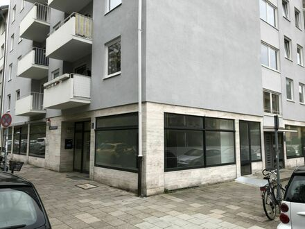 Praxis/Laden/Büro am Westpark mit großem Schaufenster über 2 Ecken