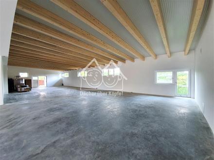Neubau-Erstbezug: Moderne Halle für Produktion oder Lager mit Büro in zentraler Lage von Schnaittach