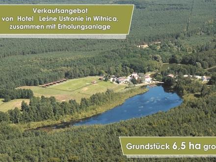 "Erholungsanlage / Hotel ""Leśne Ustronie"" in Witnica/PL, nah an DE"