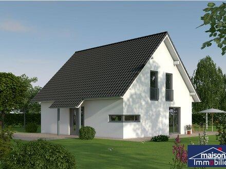 Neubau Haus JUPITER KFW-55 in ruhiger Wald-Wohnlage