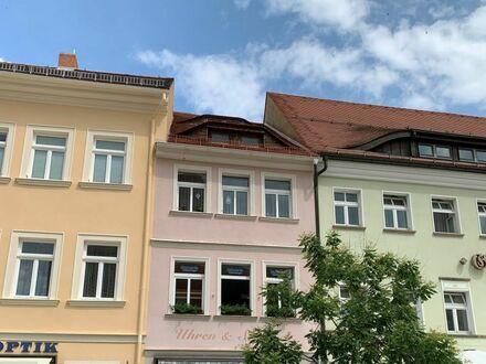 Wohn-und Geschäftshaus in zentraler Lage in Kamenz, Denkmalschutz