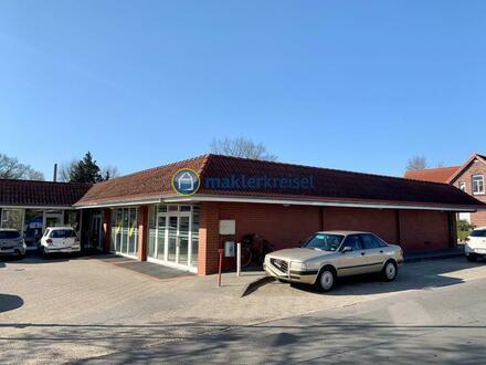 Investoren aufgepasst! Gewerbekomplex mit drei Einheiten in gut frequentierter Lage von Friedeburg