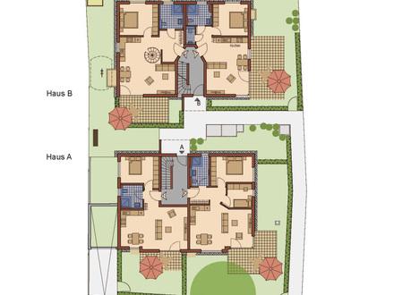 Wunderschöne 3-Zimmerwohnung mit großer Terrasse im OG nahe der romantischen Würm in Allach-Untermenzing, Neubau Erstbezug