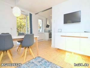 Hochwertig möblierte Wohnung direkt an der Alten Mainbrücke befristet 02.01 - 31.03.21