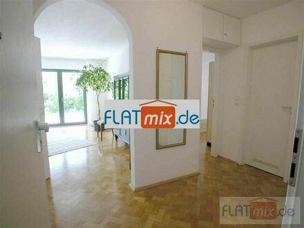 FLATmix.de / Möblierte 2-Zi-Whg mit Küche, TERRASSE und GARTEN