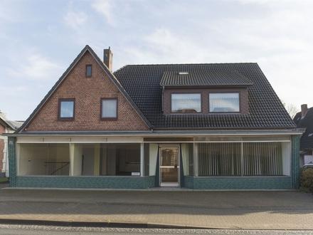 Tarp bei Flensburg: Ladenfläche mit großer Schaufensterfront!OTTO STÖBEN Immobilien!