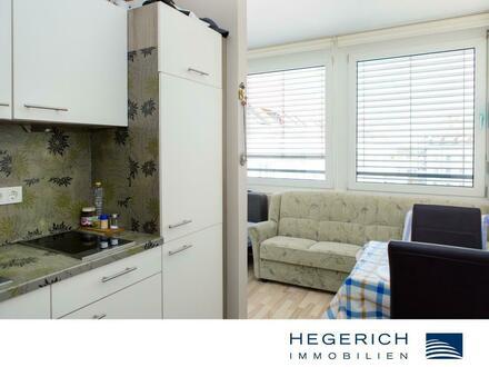 HEGERICH: Helle 1-Zimmer-Wohnung in der Fürther-Innenstadt inkl. Möblierung