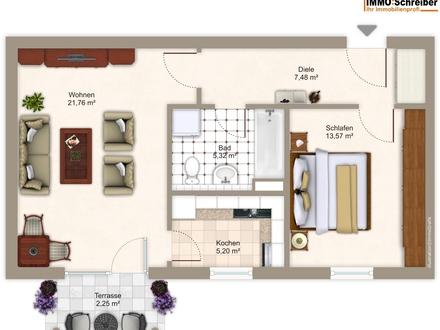 Schöne Wohnung mit Terrasse