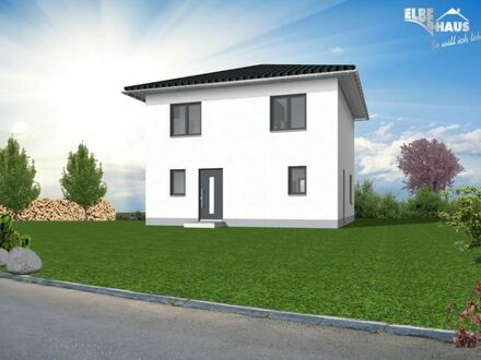 !!!KFW 55!!!Tolle Stadtvilla in Sölde mit Eigenleistung und Baukindergeld - mit Elbe-Haus
