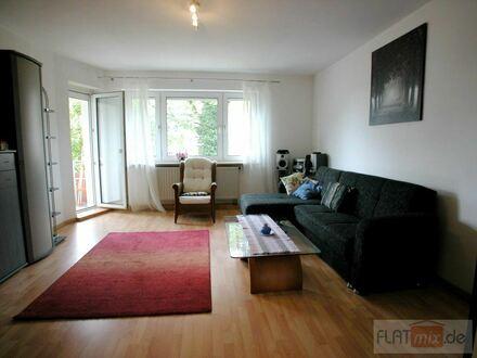 FLATmix.de / Komplett, möblierte 3-Zi-Wohnung mit BALKON und PKW-Stellplatz