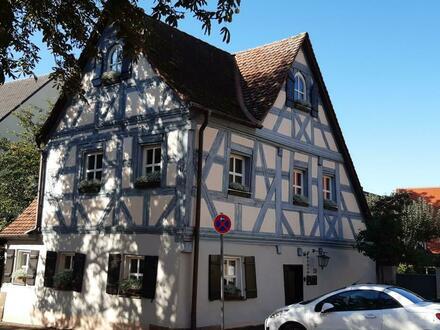 Arbeiten hinter historischen Mauern: Büro-/Praxisräume in der Ortsmitte von Großgründlach