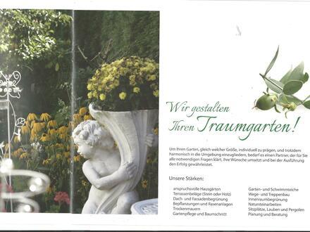 Renommiertes Unternehmen, Garten und Landschaftsbau