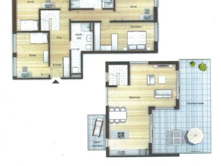 Vom Haus in die neue Penthaus-Wohnung!