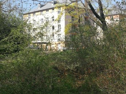 Direkt am Schwanenteich! 2 Raum Wohnung mit Balkon