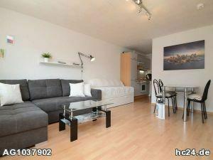 Möblierte 1-Zimmer Wohnung in Heidingsfeld mit Balkon