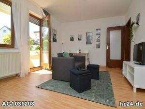 Gemütlich möblierte Wohnung mit Balkon in Wü/Heuchelhof