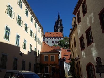 Burgfräulein 1-Zimmerwohnung, EG links, Meißen Altstadt zu verkaufen
