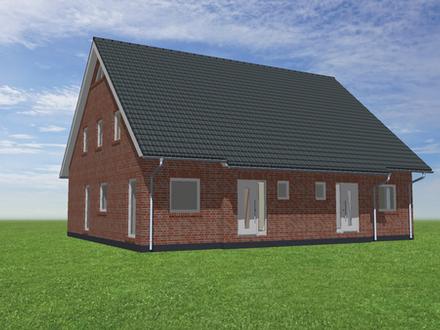 In Planung: Neubau einer Doppelhaushälfte als Niedrigenergie im KfW 55 Status mit einem ca. 285 m² großem Südlagegrundstücksanteil…