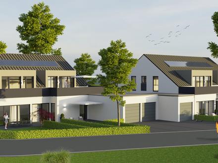 sonnige 3,5-Zimmer KfW55 DG-Wohnung A4 mit Dachterrasse in Toplage