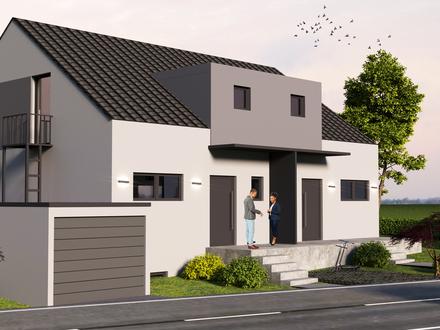Welzheim Doppelhaushälfte mit Grundstück in Toplage