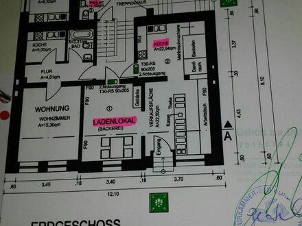 Ladenlokal Bäckerei/Büro