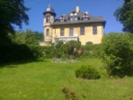 Schloss mit Park-Grundstück und See