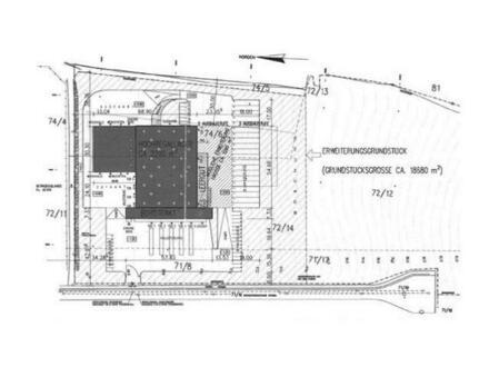 genehmigter Bauplan für Logistikzentrum | auch teilbar
