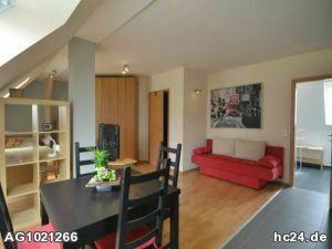 Möblierte Dachgeschosswohnung in Dettelbach für einen Wochenendheimfahrer