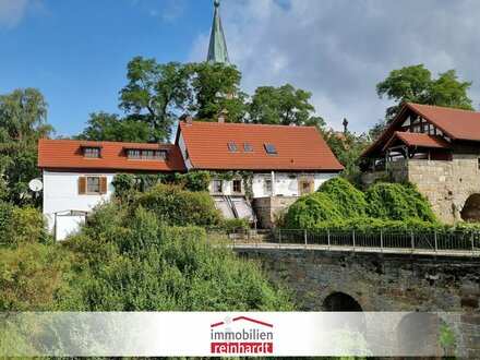 Wohnen wie ein Burgherr! Auf dem Burgberg Altenstein mit traumhaftem Fernblick!