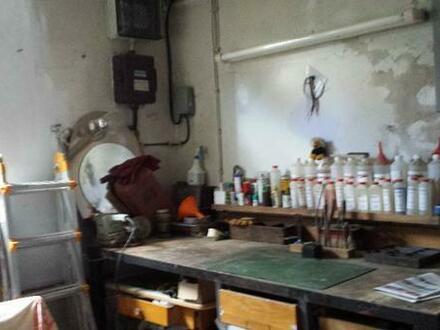 Handwerker-Werkstatt/Hobbyraum mit Lagerraum und WC zu vermieten