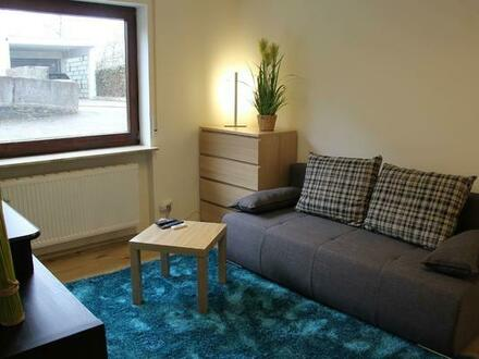 Komplett möblierte und moderne 1-Zimmer-Wohnung in ruhiger Lage nähe Daimler und BB/Hulb