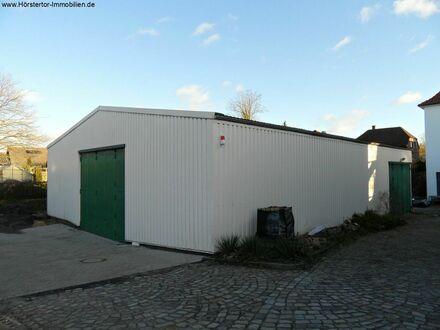 Gelegenheit: Münster-Kinderhaus, Halle ca. 290 m² mit Büro, ca. 120 m²