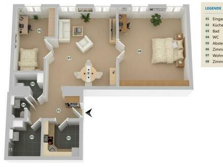 ERSTBEZUG nach Renovierung! Traumjuwel mit großzügiger Raumaufteilung!