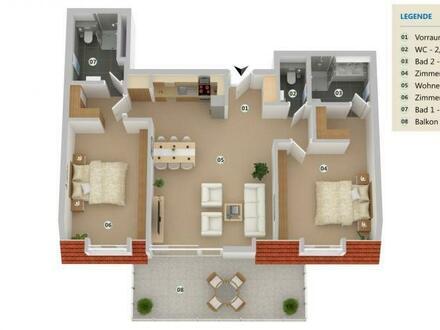ERSTBEZUG: 3 Zimmer Familientraum mit Terrasse!