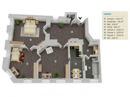 Döbling : charmante Altbauwohnung