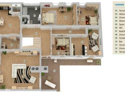 Wohnjuwel in fantastischer Lage - zeitlos, elegant und viel Platz