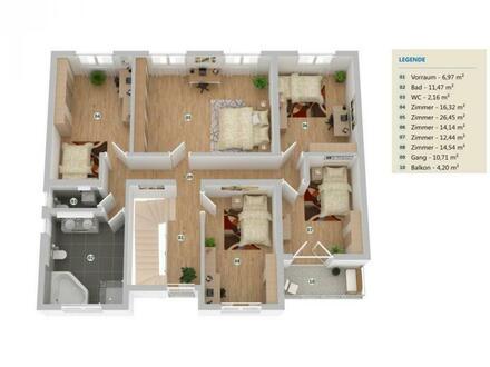Erstbezug Einfamilienhaus in zentraler Lage!