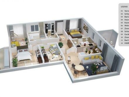 Modern, idyllisch mit großzügiger Wohnfläche