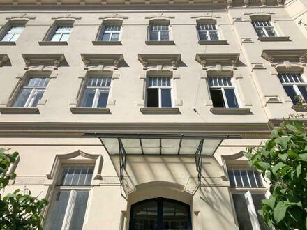 Döbling/Saarplatz : charmantes Altbaujuwel in Gründerzeithaus