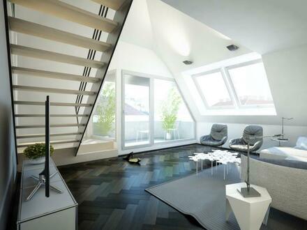 Neulerchenfeld [Top 36] Sonnige DG Maisonette mit Terrasse