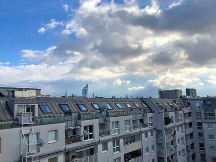 sofort verfügbar : sonnige Terrassenmaisonette nahe Donaukanal