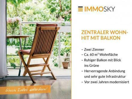 Renovierter Wohnhit mit neuer Küche und Balkon!