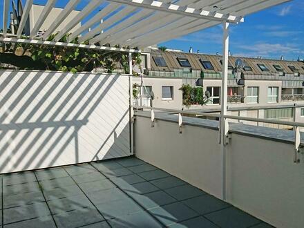 Brigittenau : sonnige Familienwohnung mit Terrasse