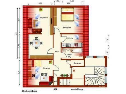 Moderne 3-Zi.-DG-Whg - Zentrum von Werdau